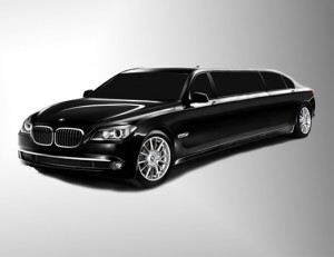 BMW 750i 54'' - Pullman Executive Edition